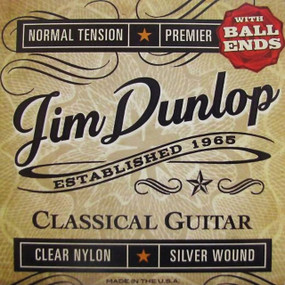 Dunlop DPV102B Premier Series Ball End Classical Guitar Strings (DPV102B)