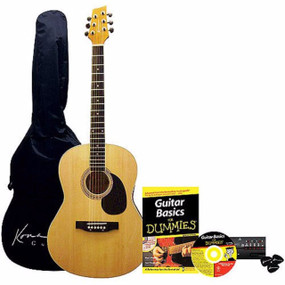Kona Acoustic Guitar Pack for Dummies (K394D)