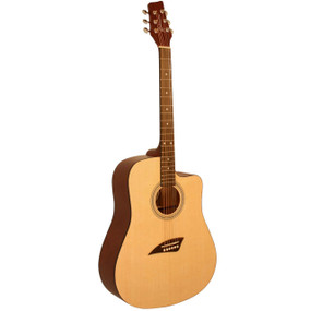 Kona K1 Dreadnought Cutaway Acoustic Guitar - Natural Gloss (K1GL)