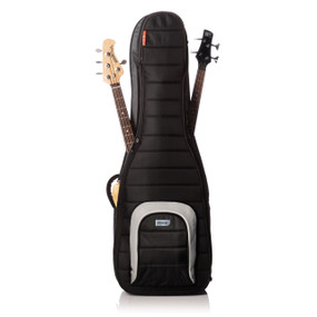 Mono M80 Series M80-2B Dual Electric Bass Guitar Case, Jet Black (M80-2B-BLK)
