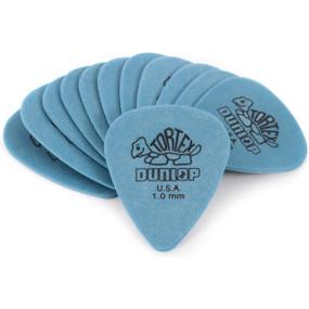 Dunlop 418P1.0 Tortex Standard 1.0mm Guitar Picks, 12-Pack (418P1.0)