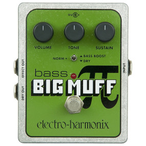 Electro-Harmonix BASS BM Bass Big Muff Pi Distortion/Sustain Effects Pedal
