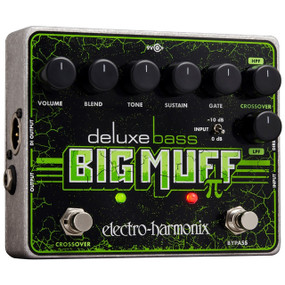Electro-Harmonix Deluxe Bass Big Muff Pi Distortion / Sustain Effects Pedal (DXBBMUFF)