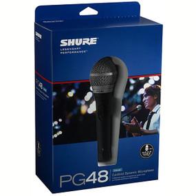 Shure PG48-XLR Cardioid Dynamic Vocal Microphone (PG48-XLR)