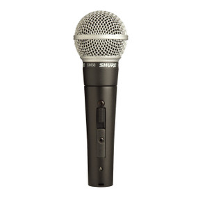 Shure SM58S Cardioid Dynamic Legendary Vocal Microphone with On/Off Switch (SM58S)