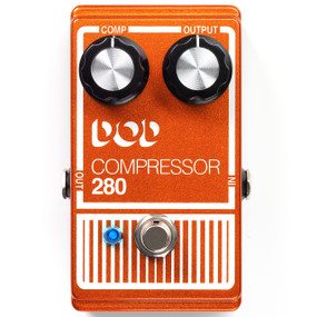 DigiTech DOD 280 Compressor Guitar Effects Pedal