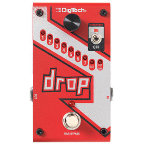 DigiTech DROP Polyphonic Drop Tune Pitch-Shift Effects Pedal