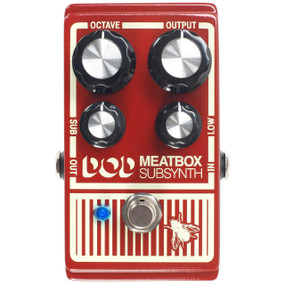DigiTech DOD MEATBOX Subharmonic Synthesizer Effects Pedal
