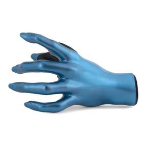 Guitar Grip Valkyrie Series Left Hand Facing Female Guitar Hanger, Placid Blue