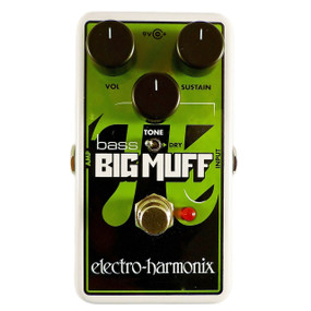 Electro-Harmonix NANO BASS BIG MUFF PI Distortion/Sustain Bass Effects Pedal