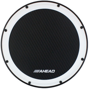 "Ahead AHSHP 14"" S-Hoop Marching Snare Drum Practice Pad with Snare Sound"