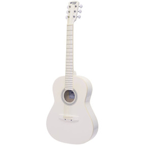 "Darling Divas DDPKG02WH 36"" Steel String Acoustic Guitar Pack, Whisper White"