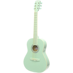 "Darling Divas DDPKG02GR 36"" Steel String Acoustic Guitar Pack, Surf Green"