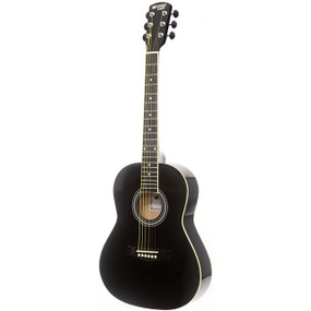 "Darling Divas DDPKG02BK 36"" Steel String Acoustic Guitar Pack, Black Voodoo"