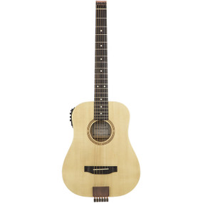 Traveler AG-105EQ Acoustic-Electric Travel Guitar, Natural
