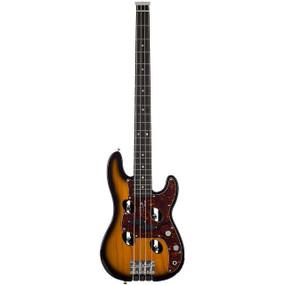 Traveler TB-4P 4-String Electric Travel Bass Guitar, Sunburst