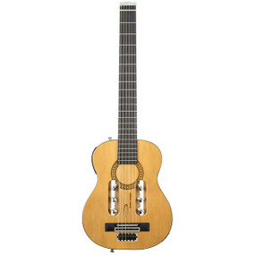 Traveler Escape Classical Acoustic-Electric Travel Guitar, Natural