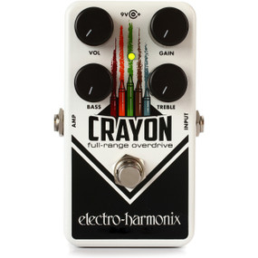 Electro-Harmonix CRAYON 69 Full-Range Overdrive Effects Pedal