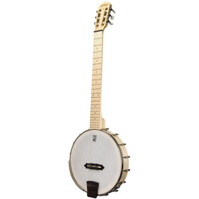 Deering Goodtime Solana 6 Nylon 6-String Acoustic-Electric Banjo