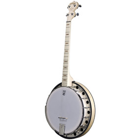 Deering Goodtime Two 19-Fret Tenor Resonator Banjo, Natural Blonde Maple (GDT-G2-19)