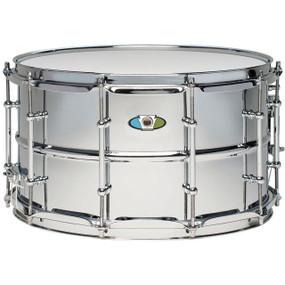 "Ludwig LW0814SL Supralite 8"" x 14"" Steel Snare Drum"