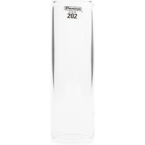 Dunlop 202 Tempured Glass Slide, Regular Wall Thickness, Medium