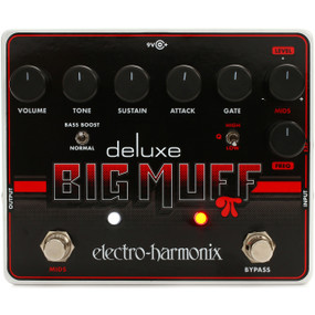 Electro-Harmonix DELUXE BIG MUFF PI Fuzz Effects Pedal