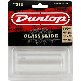 Dunlop 213 Tempered Glass Slide, Heavy Wall Thickness, Large