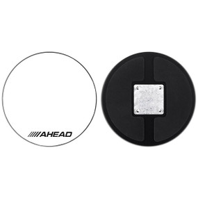 "Ahead AHPKZ 10"" Inch Corp Snare Drum Practice Pad with Snare Sound"