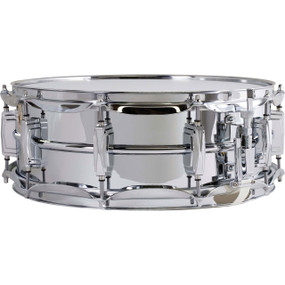 "Ludwig LM400 Supra-Phonic 5"" X 14"" Snare Drum, Smooth Chrome Plated Aluminum"