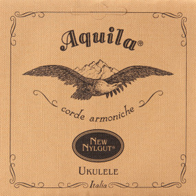 Aquila 5U New Nylgut Soprano Ukulele Strings, Low G