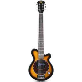 Pignose PGG-200-BS Mini Electric Guitar w/ Built in Amp, Sunburst