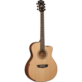Washburn Comfort Series WCG15CE Beveled Top Acoustic Electric Guitar