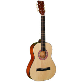 Indiana COLT 36-Inch Steel String Acoustic Guitar with Gig Bag, Natural