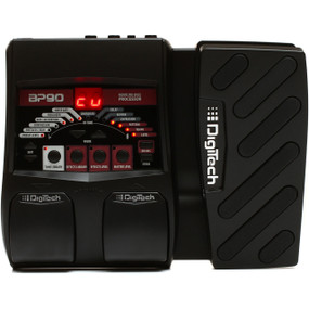 DigiTech BP90 Bass Multi-Effects Processor with Expression Pedal & Power Supply