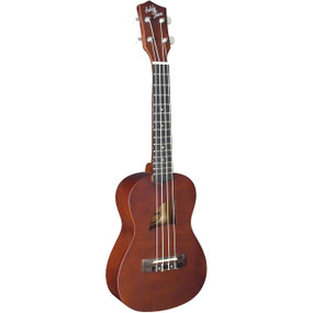 Eddy Finn EF-1-C Concert Size Acoustic Ukulele with Aquila Strings, Natural