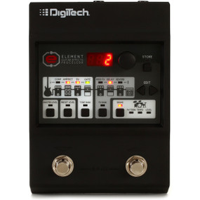 DigiTech Element Compact Guitar Multi-Effects Processor FX Pedal w/ Power Supply