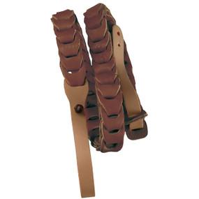 Morgan Monroe MDS-5-BR Deluxe Leather Mandolin Strap, Brown