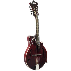 Morgan Monroe MM-300WR American Roots F-Style Mandolin, Wine Red