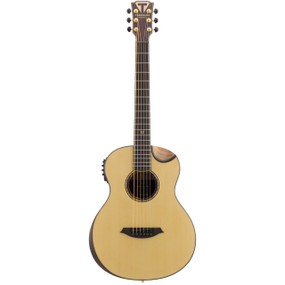 Traveler Guitar CL-3EQ Beveled Top Acoustic Electric Travel Guitar w/ GigBag