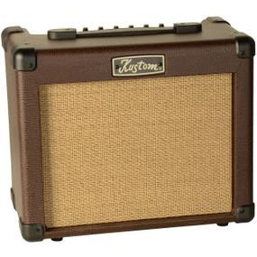 Kustom Sienna Pro Series 16-Watt Combo Amp Acoustic Guitar Amplifier, SIENNA16PRO