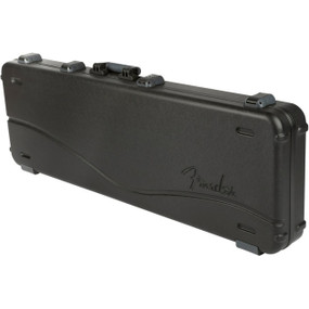 Fender Deluxe Molded Electric Bass Guitar Case - Black, 099-6162-306