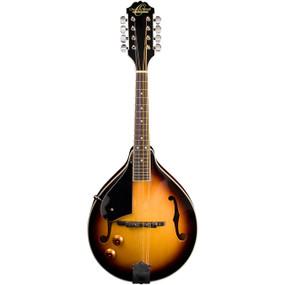 Oscar Schmidt OM10ETSLH Left-Handed A-Style Acoustic Electric Mandolin, Tobacco Sunburst