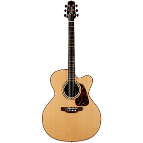 Takamine P7JC Pro Series 7 Jumbo Cutaway Acoustic Electric Guitar - Natural, P7JC