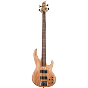 ESP LTD B-204SMNS 4-String Electric Bass Guitar, Spalted Maple