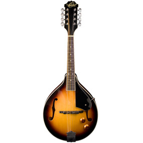 Oscar Schmidt OM10ETS A-Style Acoustic Electric Mandolin, Tobacco Sunburst