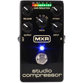 Dunlop MXR M76 Studio Compressor Guitar Effects Compression Pedal