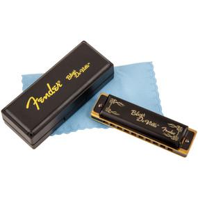 Fender Blues Deville Harmonica - Key of C, 10-Hole Diatonic, 099-0702-001