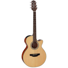 Takamine GF15CE-NAT FXC Cutaway Acoustic Electric Guitar, Natural