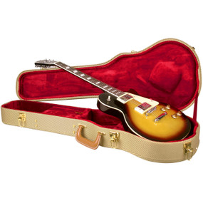 Guardian CG-035-LP Tweed Hardshell Case for LP-Style Electric Guitar